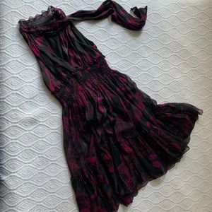Dvf dress fit and flare